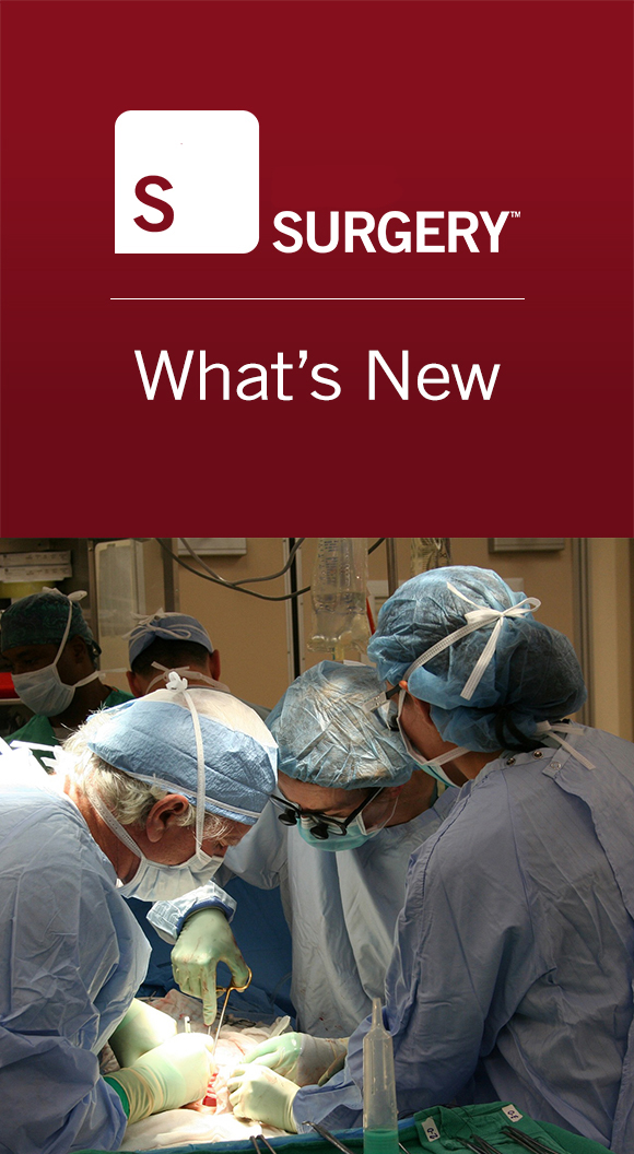 Surgery: What's New