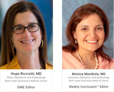 Obstetrics & Gynecology Weekly Curriculum | Decker